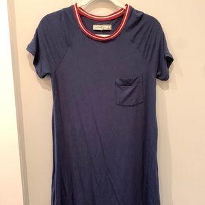 Baseball tshirt dress Abercrombie
